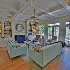 Traditional Family Room by Envision Web