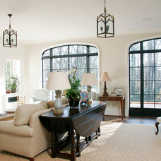 Traditional Family Room by Live Oak Construction Group, LLC