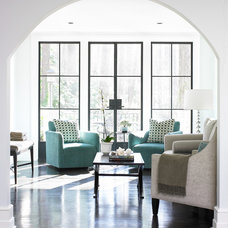contemporary family room by Live Oak Construction Group, LLC