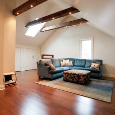 Contemporary Family Room by Carick Home Improvements