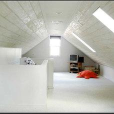 Contemporary Family Room by Mary & Hank Prekop