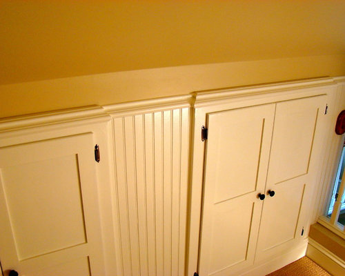 Knee Wall Storage Ideas Pictures Remodel And Decor