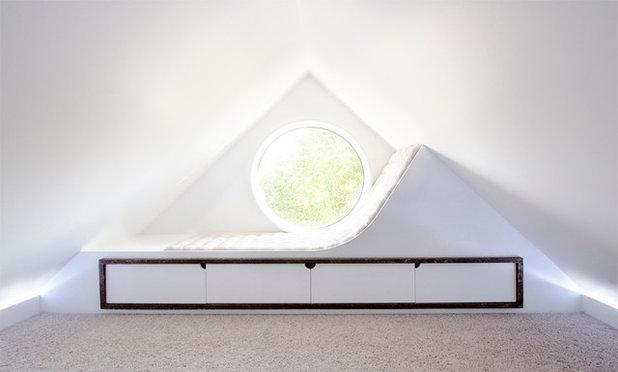 Contemporain Salle de Séjour by Studio North Inc.