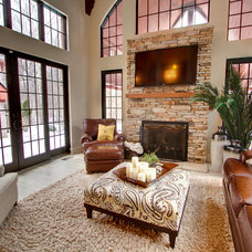 Traditional Family Room by MB Designs, LLC