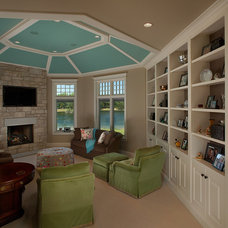 Traditional Family Room by Visbeen Architects