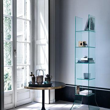 Babele Bookcase Stand by Fiam Italia
