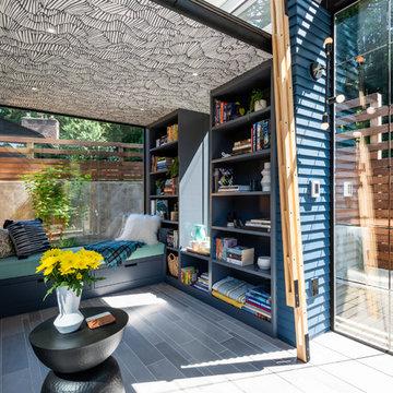 Backyard Reading Retreat