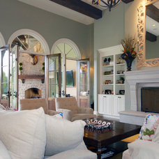 Traditional Family Room by Schaub+Srote, Architects | Planners | Interiors