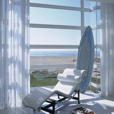 Contemporary Family Room Balboa Peninsula Residence