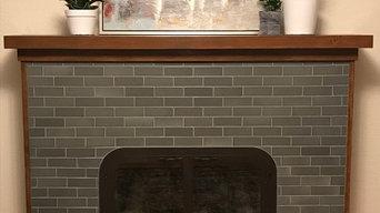 Ballard Fireplace after