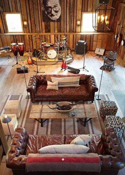 Le case di houzz un fienile ristrutturato in stile rock for Planimetrie in stile fienile
