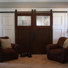 Traditional Family Room by Basin Custom