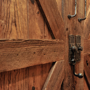 Barn doors, hand forged hardware