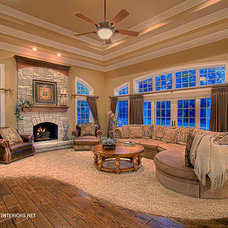 Traditional Family Room by Expressive Interiors, Inc. by Marietta Calas