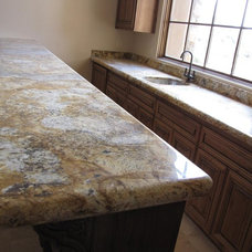Traditional Family Room by JDM Countertops, Inc.