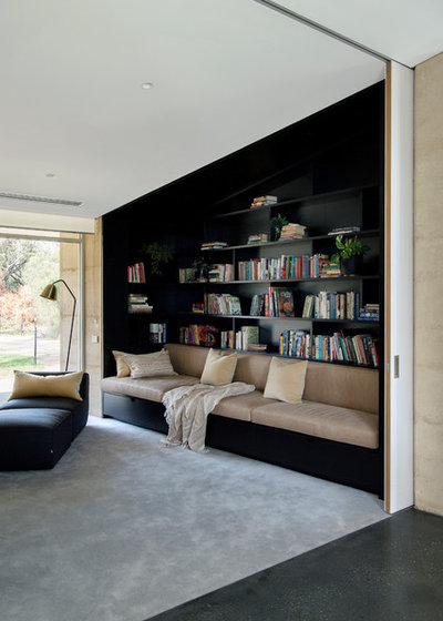 Contemporary Family Room by Mountford Architects