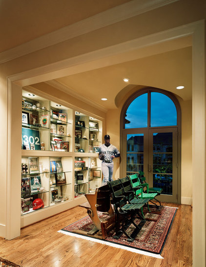 Traditional Family Room by Michael Lyons Architect