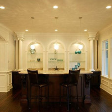 Traditional Family Room by Satori Homes & Renovations