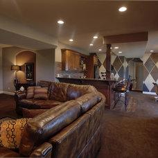 Modern Family Room by Designer's Touch