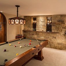 Traditional Family Room by Renaissance Design & Renovation