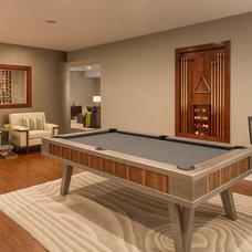 Contemporary Family Room by Grande Interiors