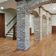Traditional Family Room by Innovative Construction Inc.