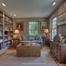 Traditional Family Room by JB Robbie Builders Inc.