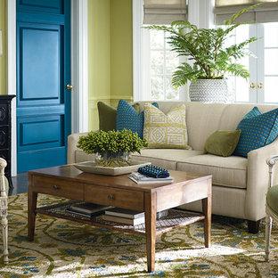 Abgetrennte Shabby-Chic-Style Wohnzimmer Ideen, Design & Bilder   Houzz