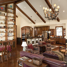 Traditional Family Room by Volz O'Connell Hutson