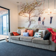 Contemporary Family Room by Howden Homes