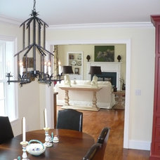 Eclectic Family Room by Mary Jo Gourd