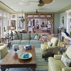 Traditional Family Room by Bruce Palmer Interior Design