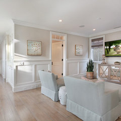 traditional family room by Brandon Architects, Inc.
