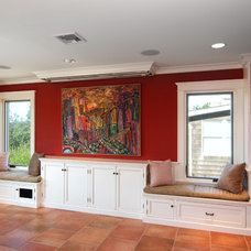 Beach Style Family Room by Baskam Construction Services