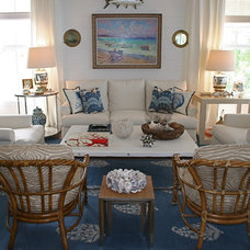 Traditional Family Room by Deborah Houston Interiors