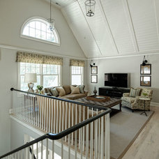 Beach Style Family Room by Highgate Builders