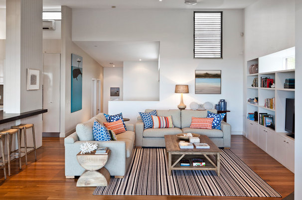 Contemporary Family Room by Highgate House