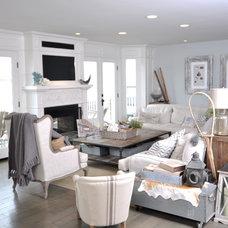 Traditional Family Room by Design Moe Kitchen & Bath / Heather Moe designer