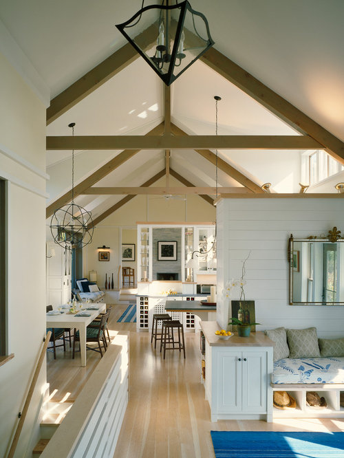 Exposed Trusses Houzz