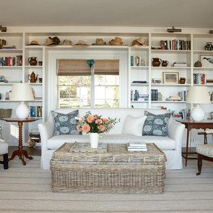 Beach Style Family Room