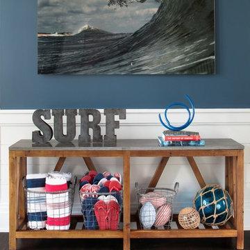 Beach Style Mud Room - Hampton Designer Showhouse 2014