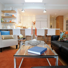 Beach Style Living Room by Judith Taylor Designs