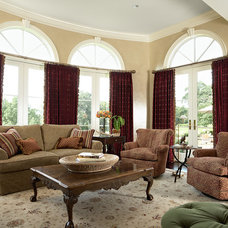Traditional Family Room by mint