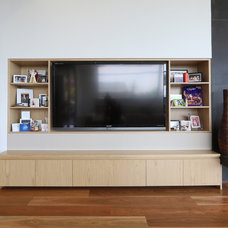 Contemporary Family Room by Melbourne Contemporary Kitchens