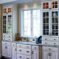 Traditional Family Room by Kitchen Art of New England LLC