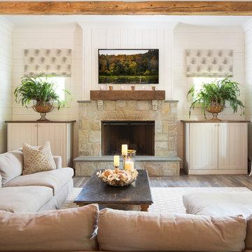 Beautiful Modern Southern Farmhouse by Steve Powell Homes