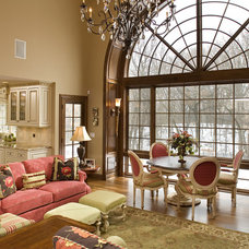 Traditional Family Room by Modern Design LLC