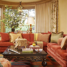 Traditional Family Room by Tucker & Marks