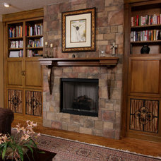 Mediterranean Family Room by BeeTree Homes