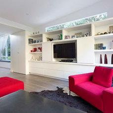 Contemporary Family Room by Zugai Strudwick Architects